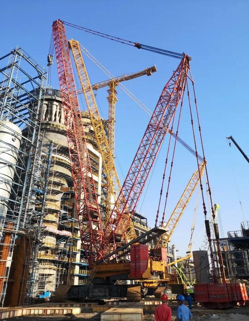 中科420万吨催化装置