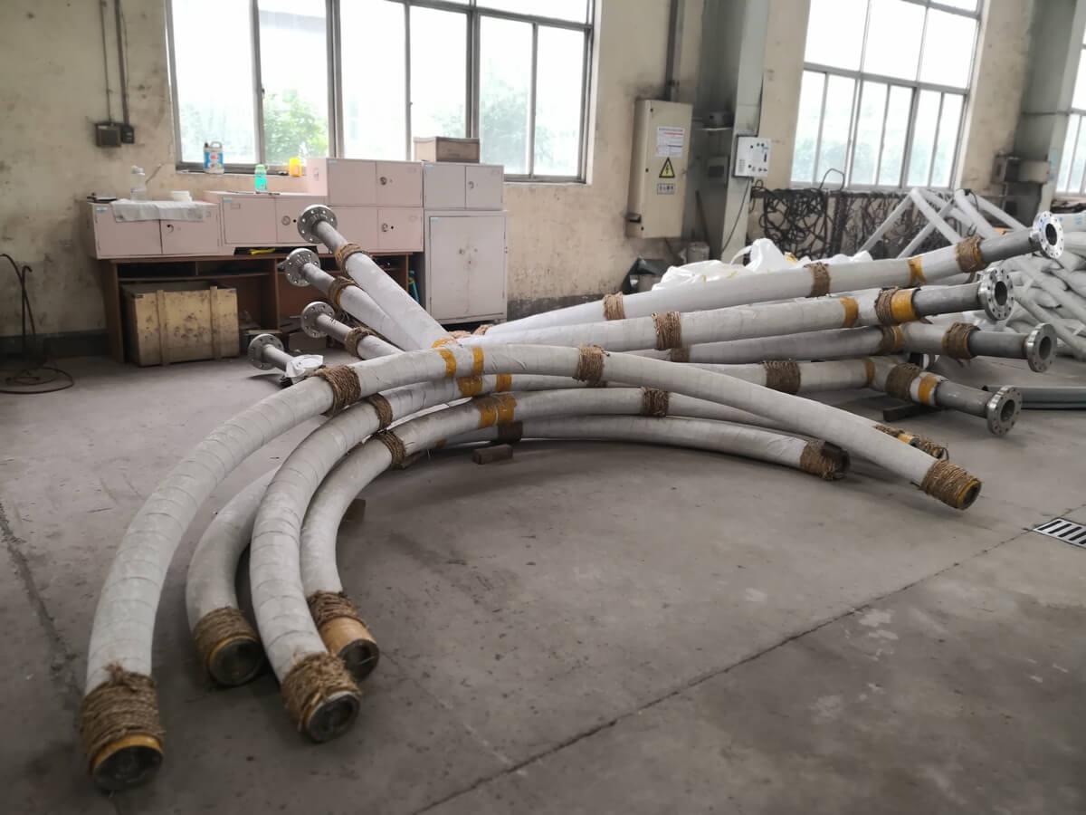 反应器二密相硫化蒸汽分布器