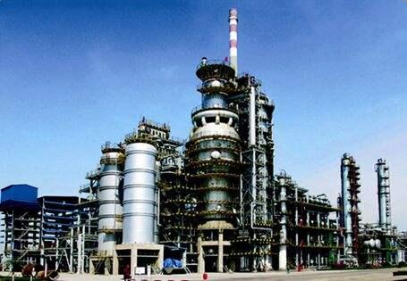 山东京博万吨年DCC装置两器衬里及烟气管道衬里工程