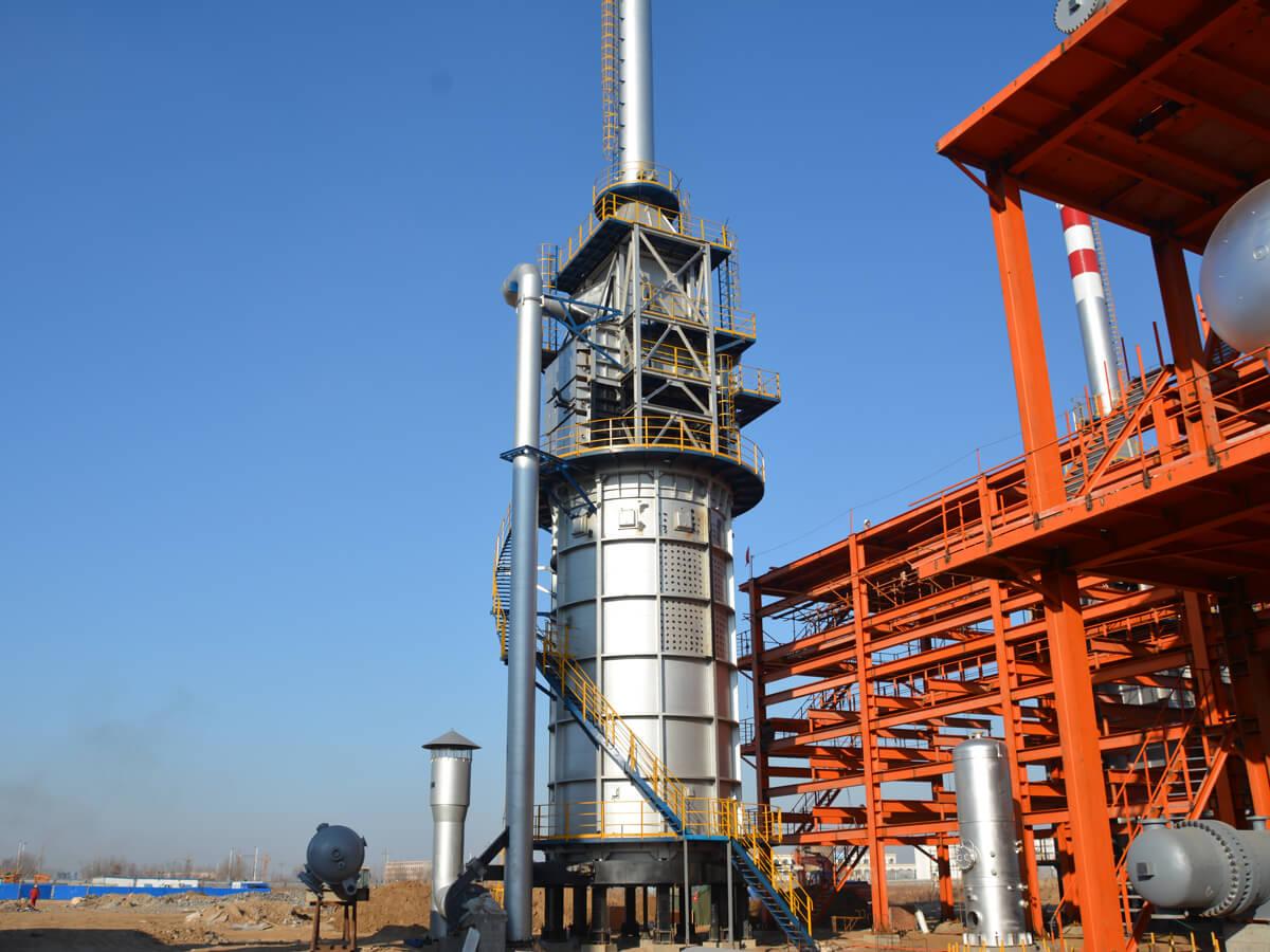 加氢分馏塔进料加热炉